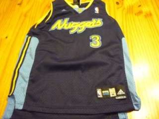 Denver Nuggets Allen Iverson sewn basketball jersey size youth Medium