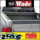 Wade Black Textured Tailgate Cap for 2007 2012 Silverad (Fits GMC)