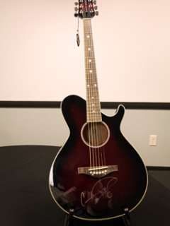 GF Carrie Underwood Signed Daisy Rock GRAMMY Acoustic Guitar