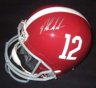 This is a Nick Saban autographed Alabama Crimson Tide Full Size
