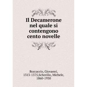 nel quale si contengono cento novelle Boccaccio Giovanni Books