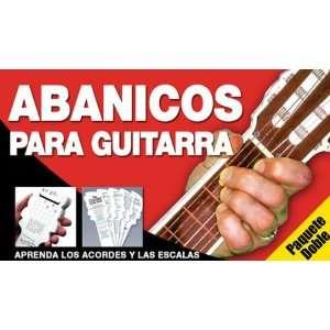 Abanicos Para Guitarra   Paquete Doble (9780825633409) Ed