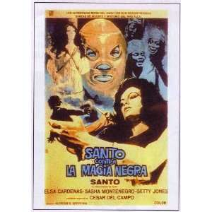 Santo vs. Black Magic Woman Movie Poster (11 x 17 Inches