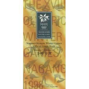 Nagano Olympic Winter Games Official Guide Book Anonymous