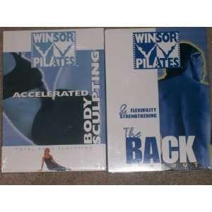 MARI WINSOR PILATES 2 DVD SET: ACCELERATED BODY SCULPTING