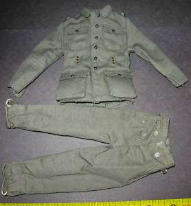 DRAGON GERMAN WWII UNIFORM 1/6 SCALE TOYS city did bbi