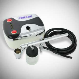 NEW Airbrush Kit Air Compressor Nail Art Tattoo Dual Action Spray