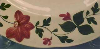 Antique ADAMS ROSE SOFT PASTE PLATE Staffordshire WOW
