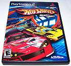 Hot Wheels Beat That Game Playstation 2 PS2 Game w Cas