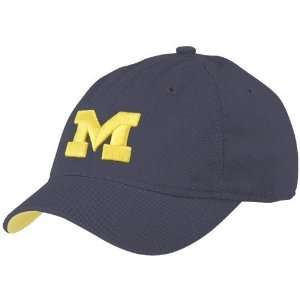 Michigan Wolverines Ladies Navy Blue Cabbie Slouch Adjustable Hat