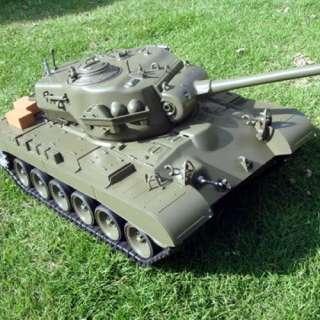 HOT TOYS 1/16 Full Scale HUGE RC Tank Fire BBs Enterbay Neca Custom