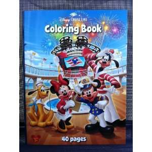 Disney Cruise Line Mickey Mouse And Pals Coloring Book