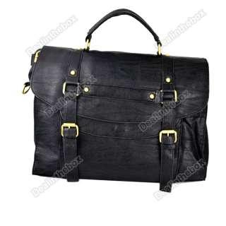 New Style Fashion Womens PU Leather Messenger Bag Retro Handbag
