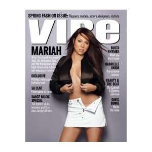 Issue) (Mariah Carey Cover) (Single Issue) Vibe Magazine Books