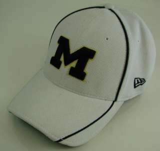 of Michigan Baseball Cap Hat 3930 L XL New Era M LOGO