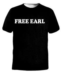NEW OFWGKTA Free Earl LOGO ODD Future Wolf Gang T Shirt