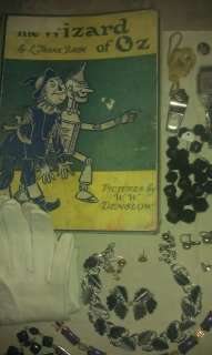 Lot, Sterling, Jewelry Antique Wizard of Oz Book, Watches MORE