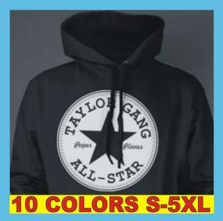 Taylor Gang All Star Wiz Khalifa RETRO T Shirt Hoodie Sizes S 5XL New