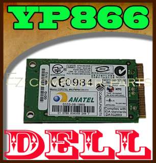 Dell Studio 1536 Wireless Bluetooth Card YP866 tested !