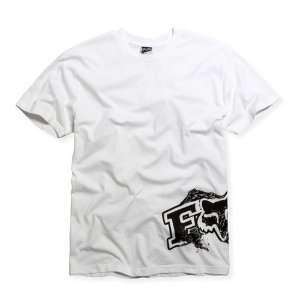 47046 BLACK GOLD Short Sleeve Cotton Tee Shirt White L: Automotive