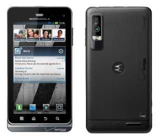 MOTOROLA DROID 3 CELL PHONE VERIZON CDMA CLEAN ESN WIFI ANDROID GPS