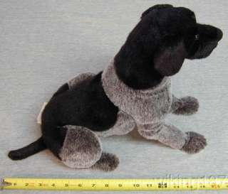 KOSEN GERMAN SHORTHAIRED POINTER DOG POSEABLE PLUSH TOY