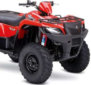 RED Shock Covers Suzuki King Quad 300 400 450 700 750