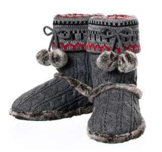 product dearfoams women s 494 slipper dark heather