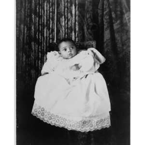 1899 photo African American baby, full length portrait