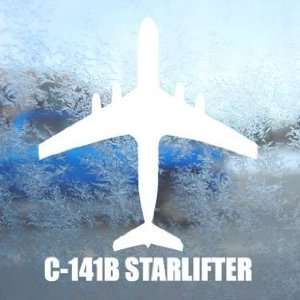 C 141B STARLIFTER White Decal Military Soldier Car White