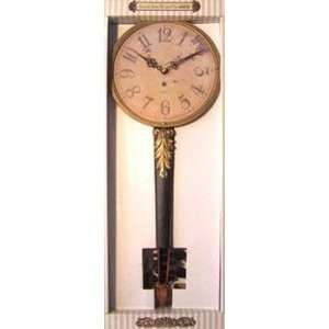 Antique Wall Clock in Chinese Musical Instrument Shape Home & Kitchen