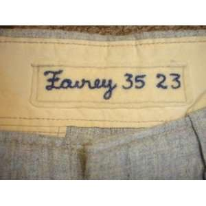 1967 Jim Fairey Los Angeles Dodgers Game Used Road Flannel