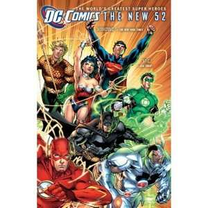 The New 52 [Hardcover] (Comes with 5 free DC Universe DVDs) FREE