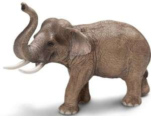ASIAN ELEPHANT MALE Wild Life NEW 2012 SCHLEICH 14653