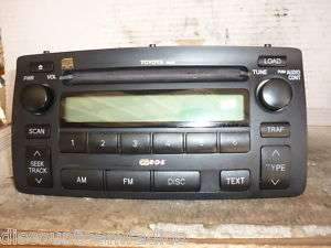 03 08 Toyota Corolla Radio 6 Disc Cd A51814