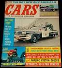 JULY 1960 CARS MAGAZINE CALIFORNIA HIGHWAY PATROL DODGE