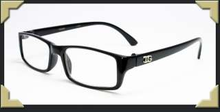 Plain Black Classic Thick Frame Reading Glasses Women & Men Various
