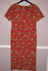 Womens SAG HARBOR Petite Red Dress Size 8P