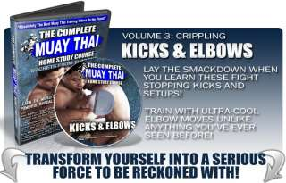 Using the Muay Thai Kick Learn and appreciate these important points