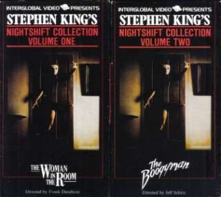 VHSLOT OF 2 STEPHEN KINGS NIGHTSHIFT COLLECTION 1 2