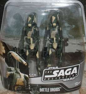 Star Wars BATTLE DROIDS Revenge of the Sith #62 camo