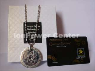 Fashion Lady Crystal Quantum Energy Scalar Pendant