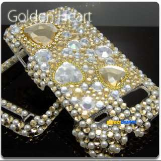 BLING CRYSTAL HARD SKIN CASE COVER HTC DESIRE Z A7272