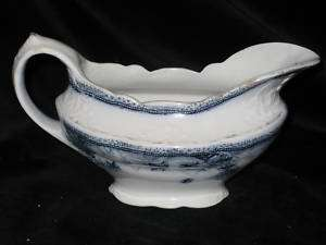 antique NEW WHARF POTTERY   Ivy   GRAVY BOAT only