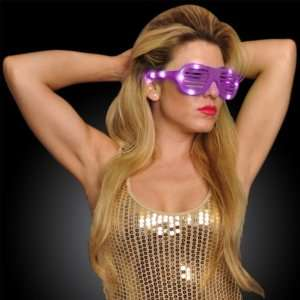 Pink LED Hip Hop Fashion Celebrity Sunglasses and Special