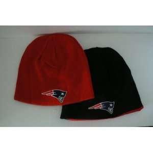 NFL New England Patriots Game Day Reversible Knit Beanie Hat Ski Skull