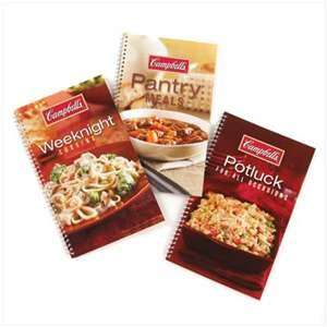 NEW ~ CAMPBELLS Cookbook Recipe Trio Set of 3 for Money Saving Meals