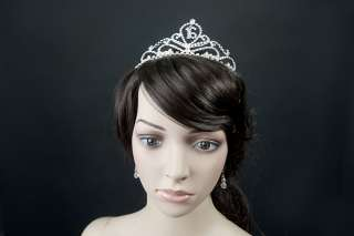 Bridal Australian Rhinestone Sixteenth Tiara
