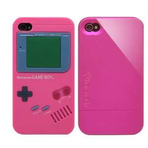 2pcs Set Nintendo Game Boy Silicone Case Rose + KoreTech (TM) Glider