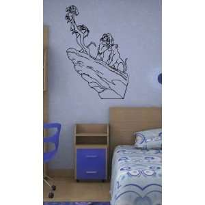 Lion King Wall Mural Sticker Baby Room Nursery ?18: Home
